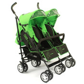 Chic 4 Baby Green Stars Buggy Test